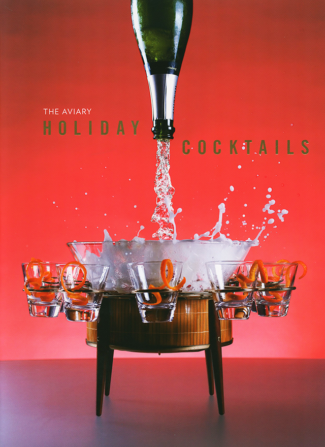 THE AVIARY HOLIDAY COCKTAIL (アメリカ・シカゴ)