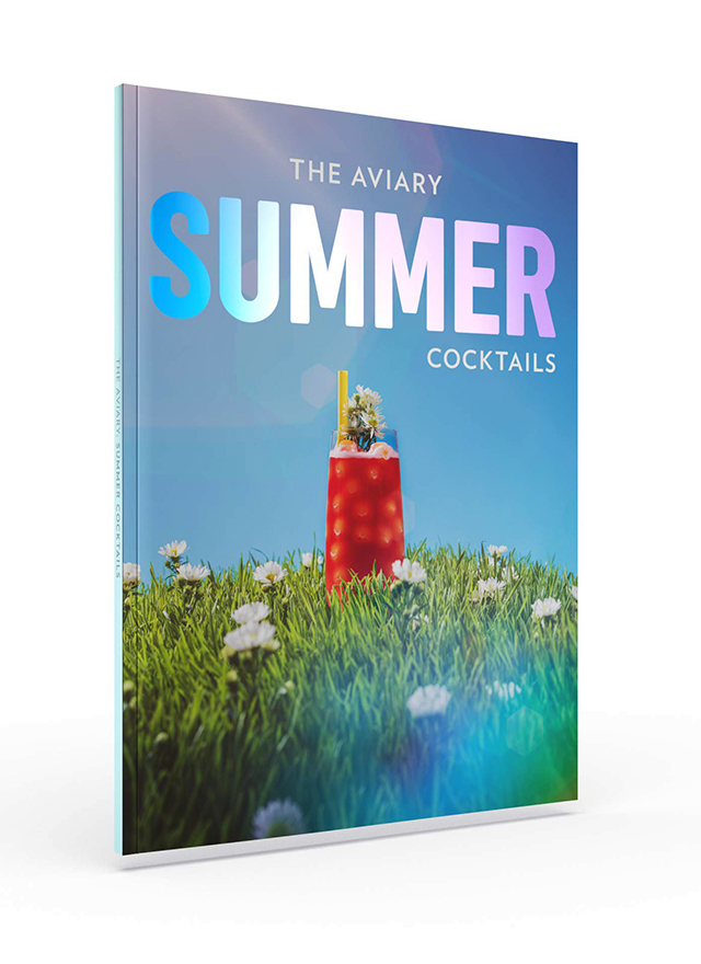THE AVIARY SUMMER COCKTAIL (アメリカ・シカゴ)