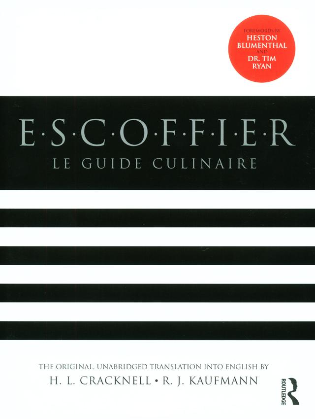 ESCOFFIER LE GUIDE CULINAIRE  (フランス)  英語版