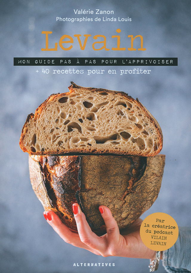Levain +40 recettes pour en profiter Edition ALTERNATIVES (フランス)