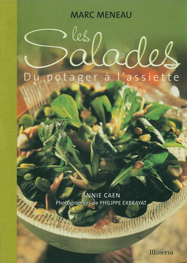 Les Salades du potager a l'assiette MARC MENEAU (フランス・ブルゴーニュ) 中古