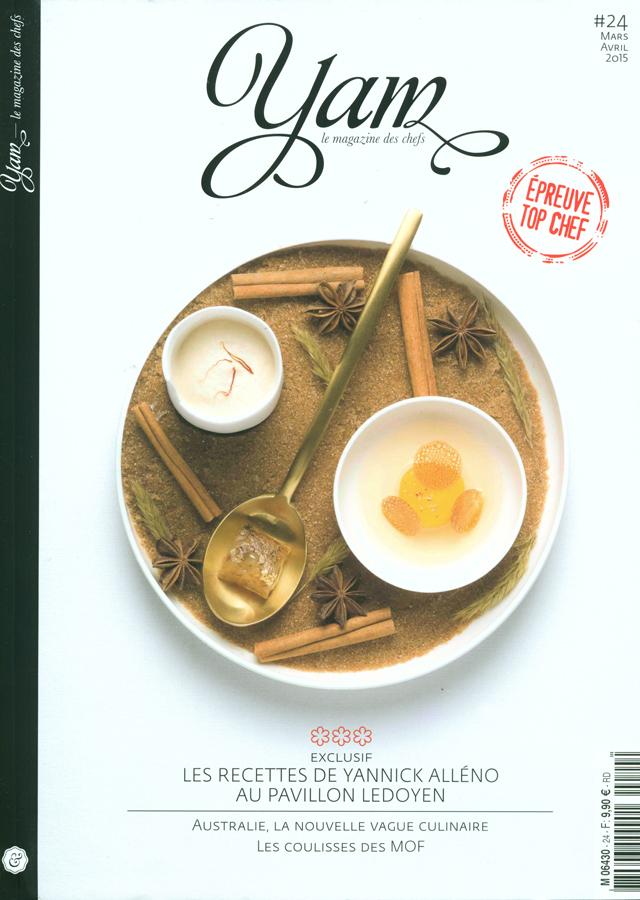 YAM le magazine des chefs  # 24