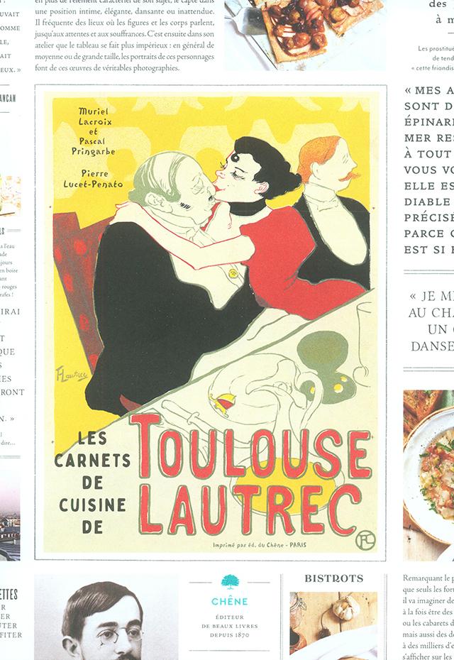 LES CARNET DE CUISINE DE TOULOUSE LAUTREC (フランス)