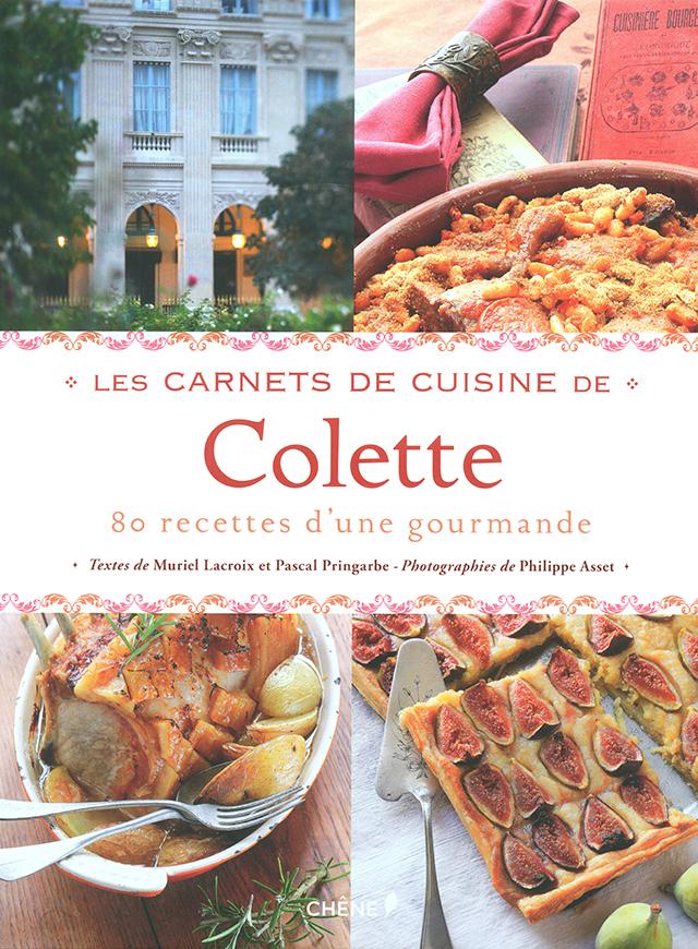 LES CARNETS DE CUISINE DE Colette (フランス)