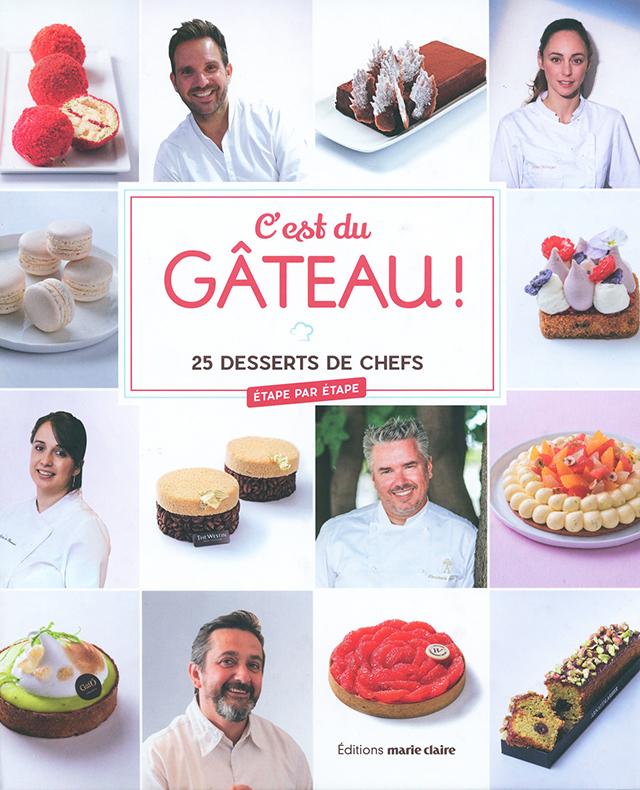 C'est du GATEAUX 25 desserts de chefs (フランス)