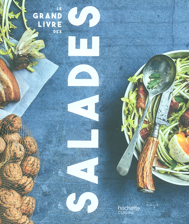 LE GRAND LIVRE DES SALADES  (フランス)