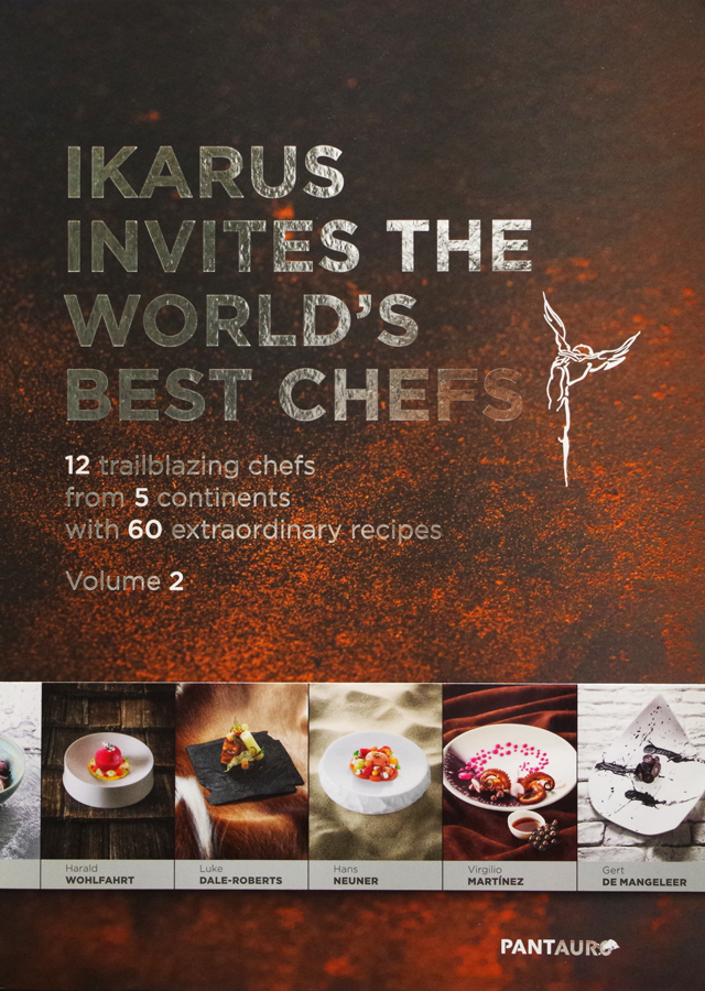 IKARUS INVITES THE WORLD'S BEST CHEFS volume 2 (オーストリア) 絶版