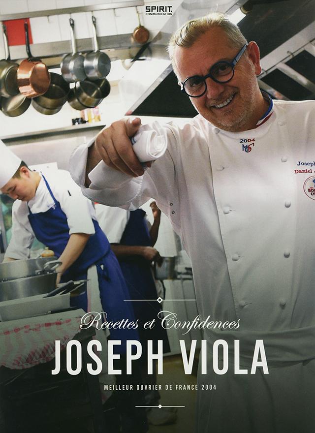 JOSEPH VIOLA Recettes et Confidences (フランス・リヨン) 傷みあり