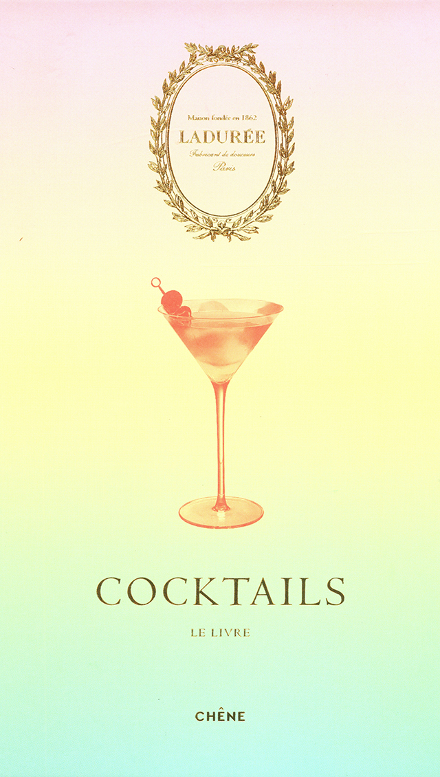 LADUREE  COCKTAILS LE LIVRE (フランス・パリ)