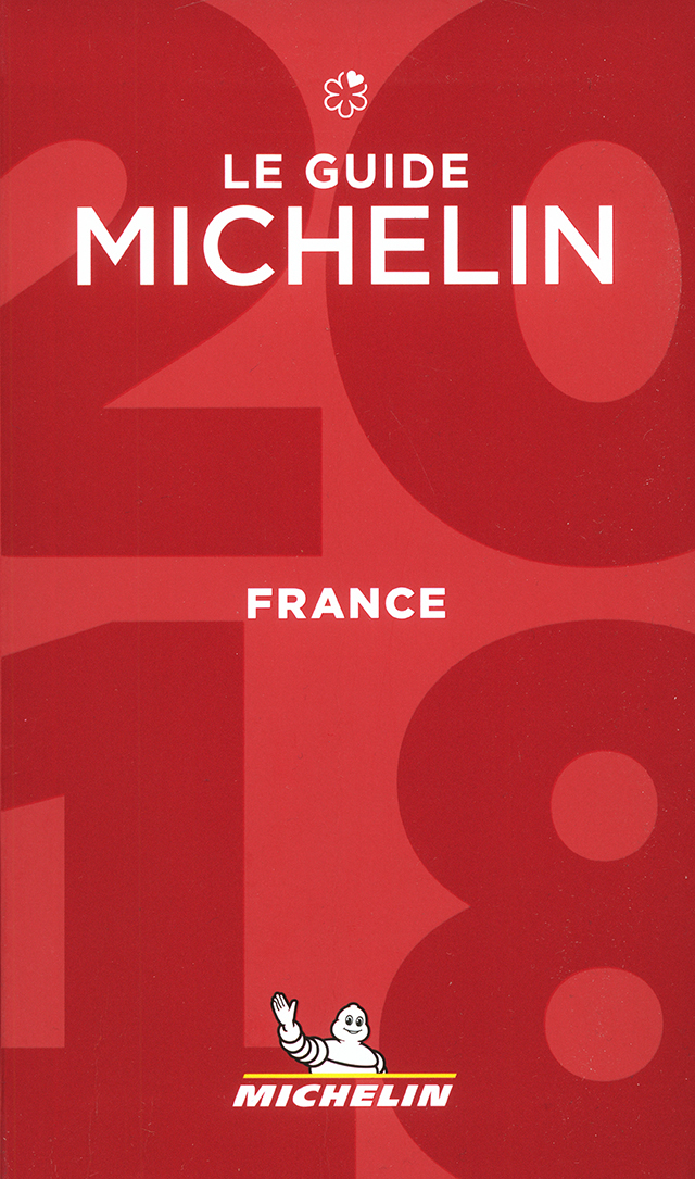 LE GUIDE MICHELIN FRANCE 2018 (フランス)