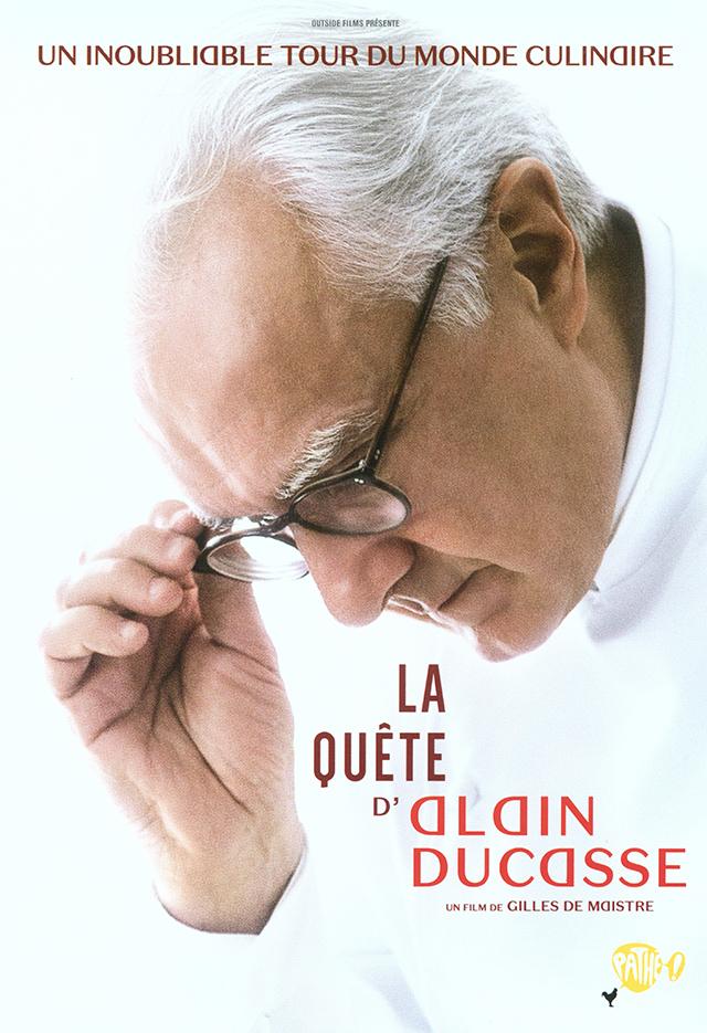 LA QUETE D'ALAIN DUCASSE  DVD  (フランス)