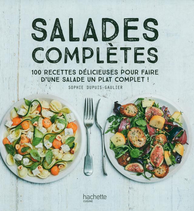 SALADES COMPLETES hachette (フランス)