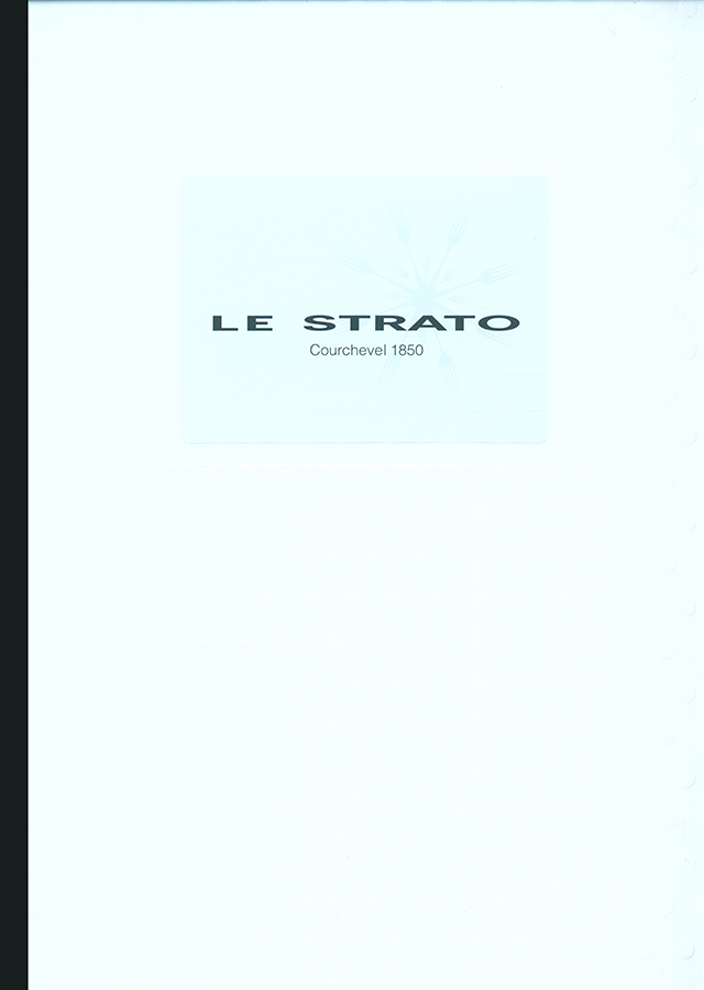 LE STRATO (フランス・クールシュヴェル)