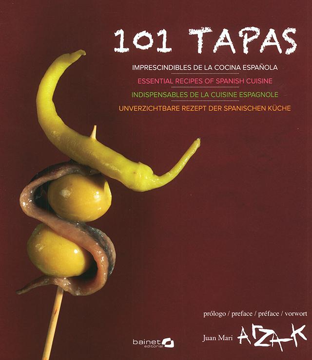 101 TAPAS IMPRESCINDIBLE DE LA COCINA ESPANOLA (スペイン) 傷みあり