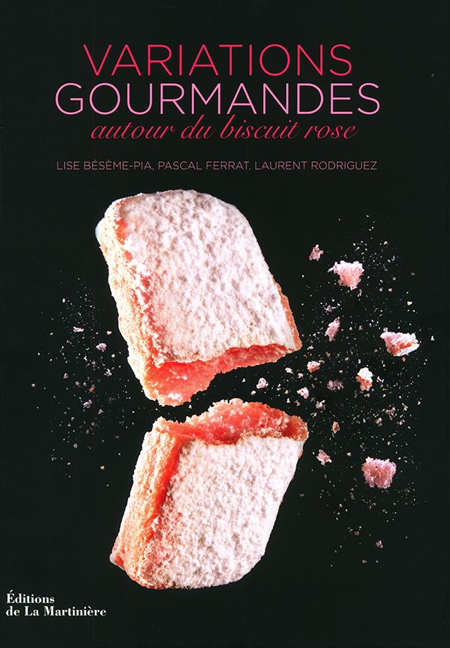 VARIATIONS GOURMANDES autour du biscuit rose (フランス・ランス)