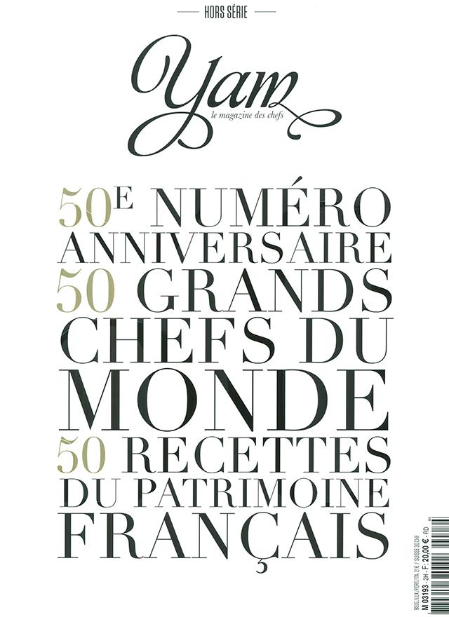 YAM le magazine des chefs HORS SERIE 50