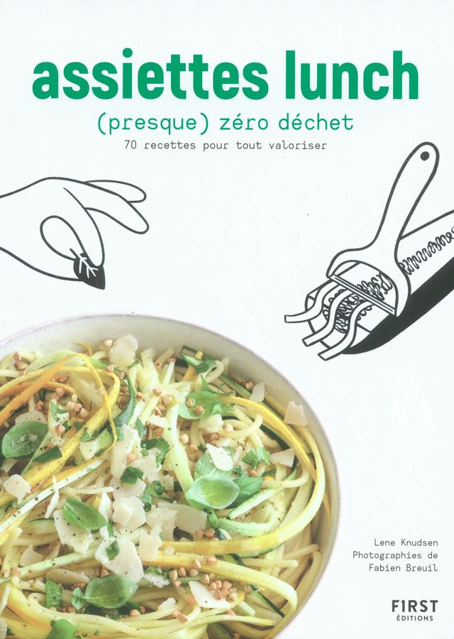 assiettes lunch presque zero dechet (フランス)