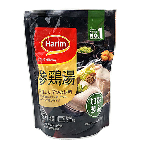 参鶏湯サムゲタン