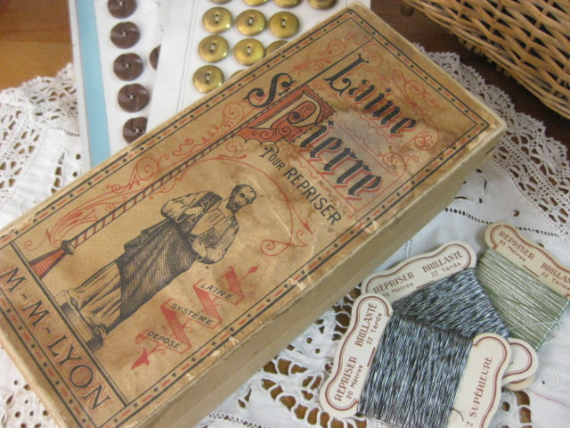 フランスLAINE St PIERRE社糸巻き用紙製ボックス