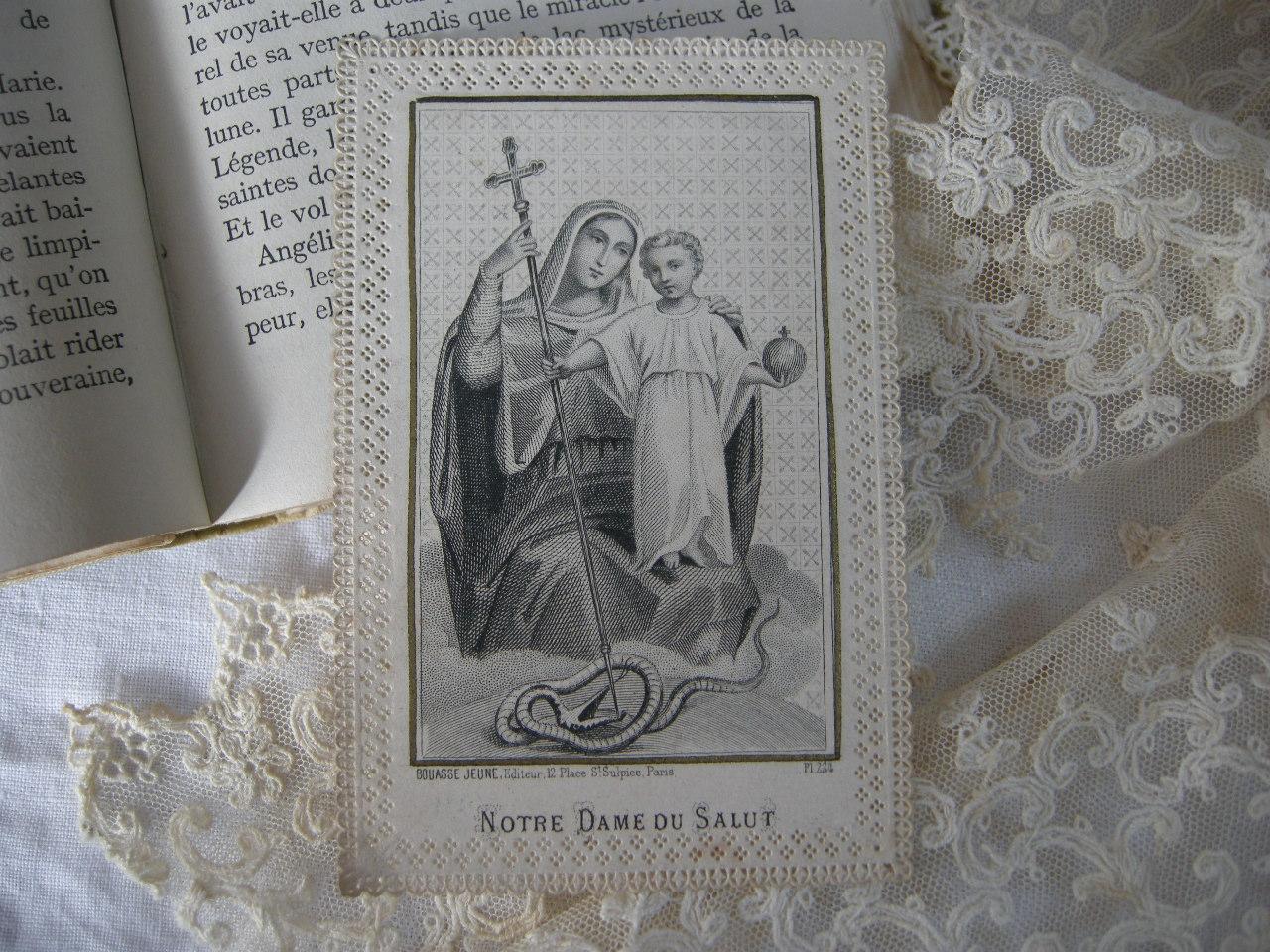 フランスアンティークHoly Card・カニヴェ