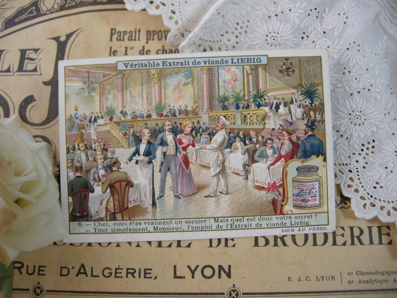 フランスアンティーククロモカードF (LIEBIG)