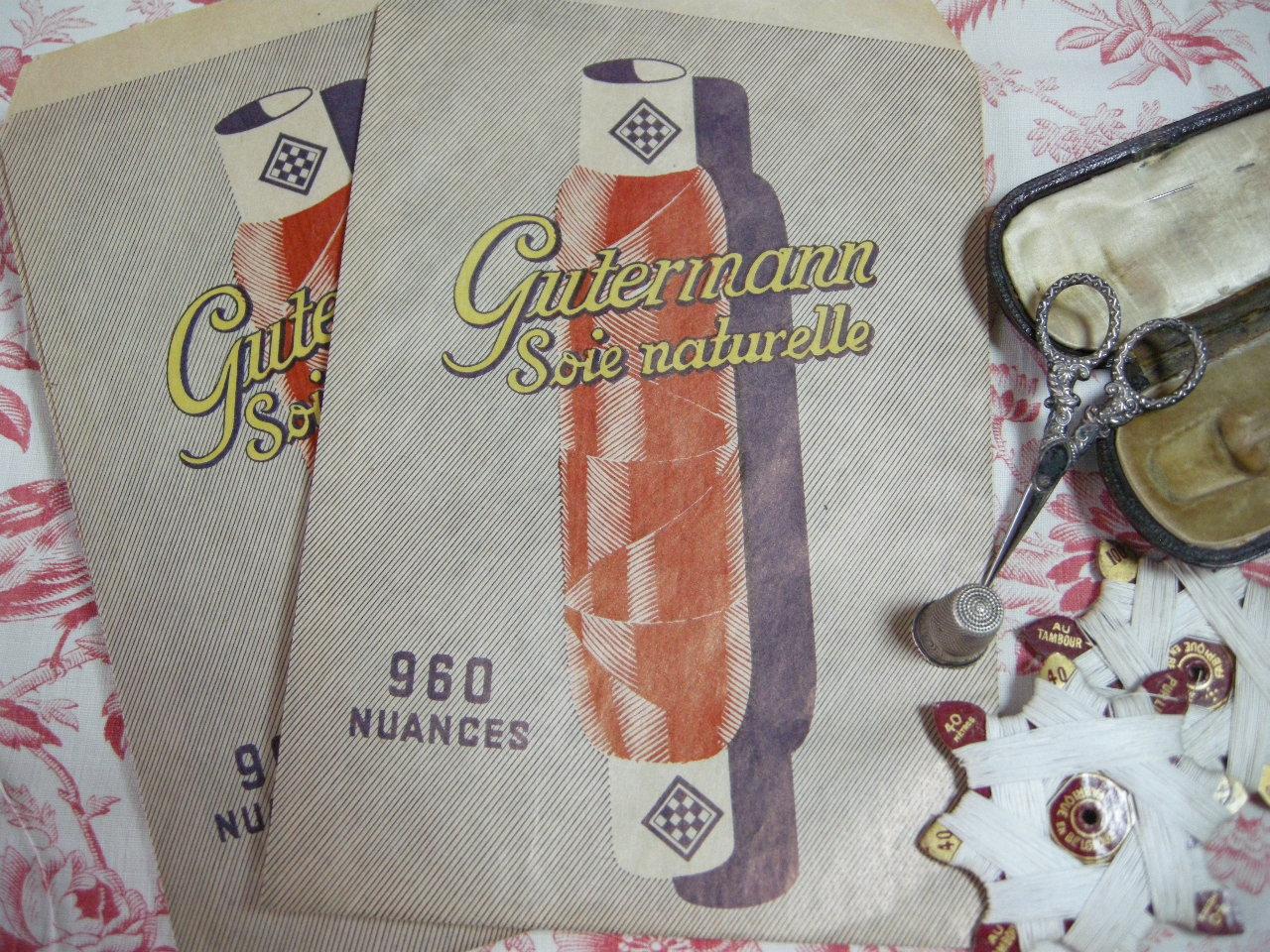 GUTERMANNナチュラルシルクペーパーバッグ
