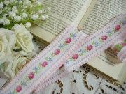Ruban(Les fleurs/Pink)