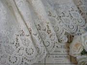 フランスアンティーク刺繍レース