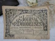 フランス刺繍新聞LA JOURNAL DES BRODEUSES (1er Fevrier 1950)