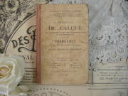 フランスアンティークブック(DE CALCUL)