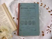 フランスアンティークブック(HISTOIRE SAINTE )