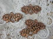 フランスアンティーク真鍮アクセサリーパーツ