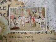 フランスアンティーククロモカードE (LIEBIG)