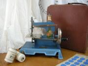 フランスボックスバッグ付きトイミシン(Bleu)