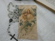 フランスアンティークHoly Card・プルミエール コミュニオンN
