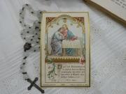フランスアンティークHoly Card F