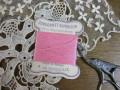 紙製台紙シルク糸巻き(Pink)