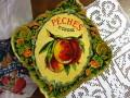 アンティーク&ブロカント フルーツラベル(PECHES)
