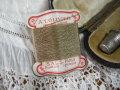 紙製台紙シルク糸巻き(モカ)