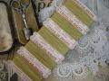 紙製台紙シルク糸巻き(イエローグリーン)
