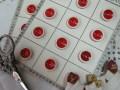 フランスアンティークガラリスボタン(RougeS)