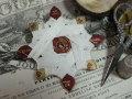 紙製台紙ホワイトLIN糸巻き 80