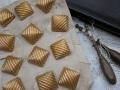 フランスアンティーク真鍮製スクエアボタン