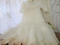 アンティークレースベビーセレモニードレス(インナードレス付き)