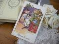 ポストカード(子猫とクリスマスツリー)