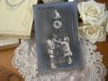 ポストカード(時計とネコとチャイルド)