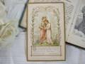 フランスアンティークHoly Card・プルミエール コミュニオンJ