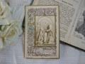 フランスアンティークHoly Card D