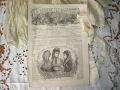 フランスファッション新聞 LA MODE ILLUSTREE ラ・モード・イリュストレ (1877年12月9日)