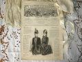 フランスファッション新聞 LA MODE ILLUSTREE ラ・モード・イリュストレ (1886年11月7日)